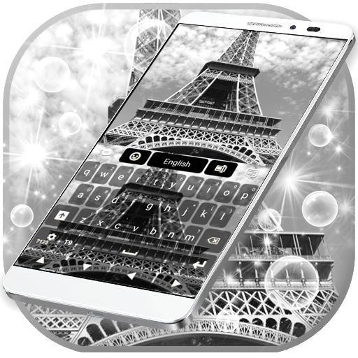 Eiffel Tower Keyboard Icon