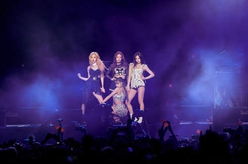 BLACKPINK performed the stage at the Coachella Music Festival