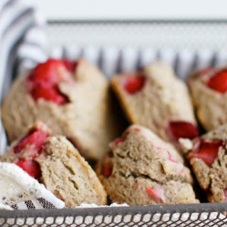 Strawberry Buckwheat Scones