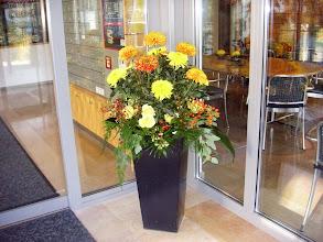 Photo: Blumen zum Empfang