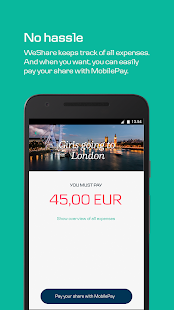WeShare by MobilePay- screenshot thumbnail