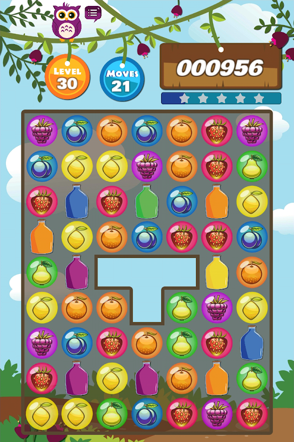 Fruit Safari - Match 3 Puzzle- screenshot