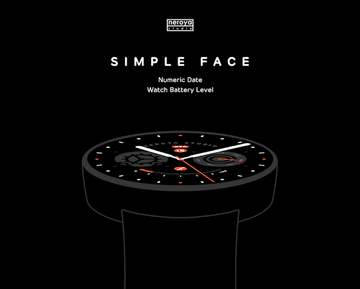 Simple Face watchface by Neroy