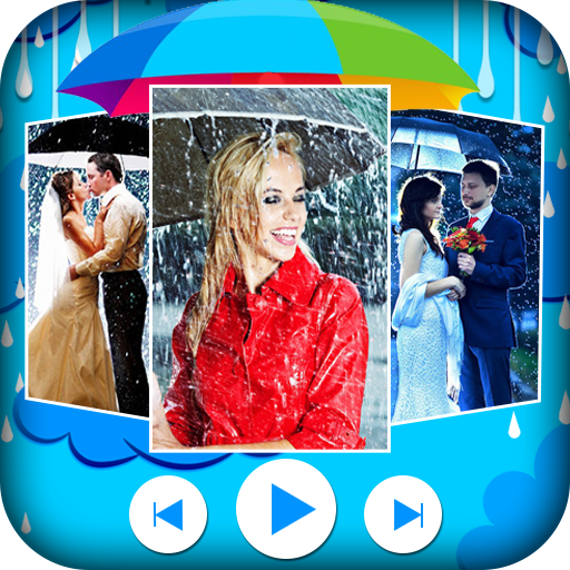 Rainy Video Maker - Rainy Photo Video Maker