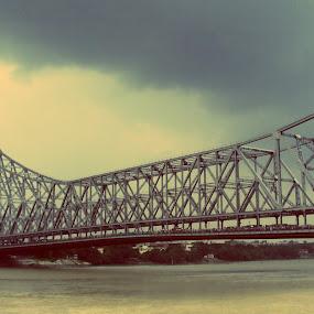 howrah bridge,kolkata by Amit Sen - Buildings & Architecture Bridges & Suspended Structures