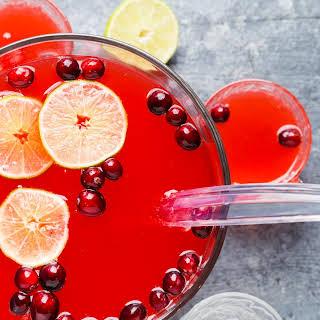 Boozy Cranberry Punch.
