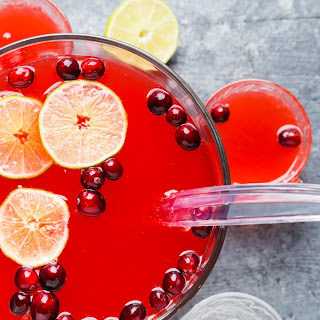 Boozy Cranberry Punch.