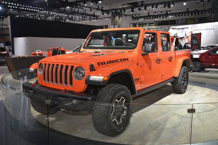 The new Jeep Gladiator will be aimed at the leisure market if it arrives in SA in 2019. Picture: MARK SMYTH