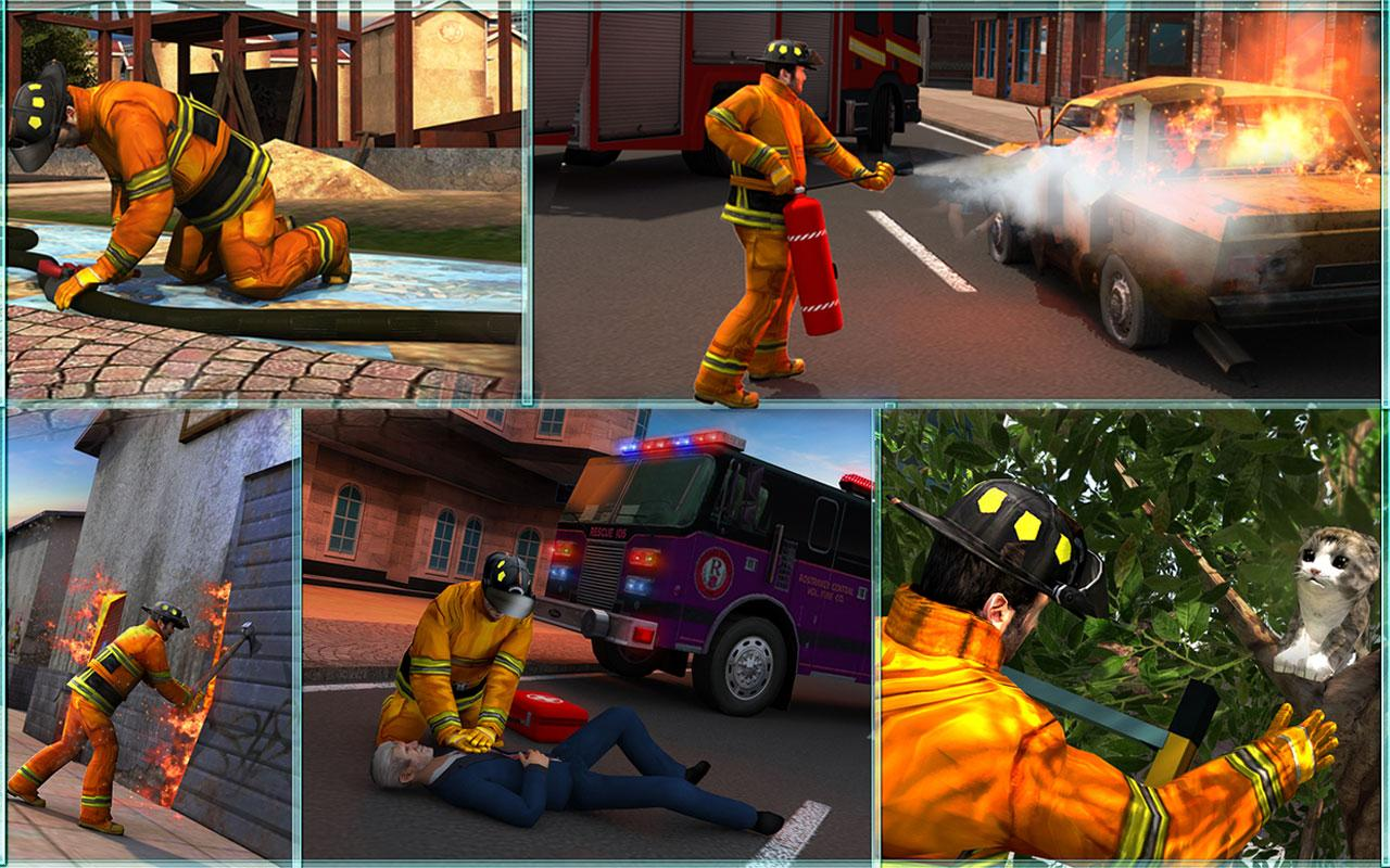American FireFighter 2017- screenshot