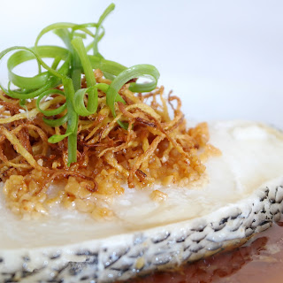 Fragrant Steamed Cod Fish.
