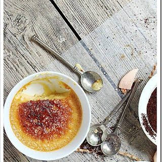 Caramel & Coffee-Infused Creme Brulee.