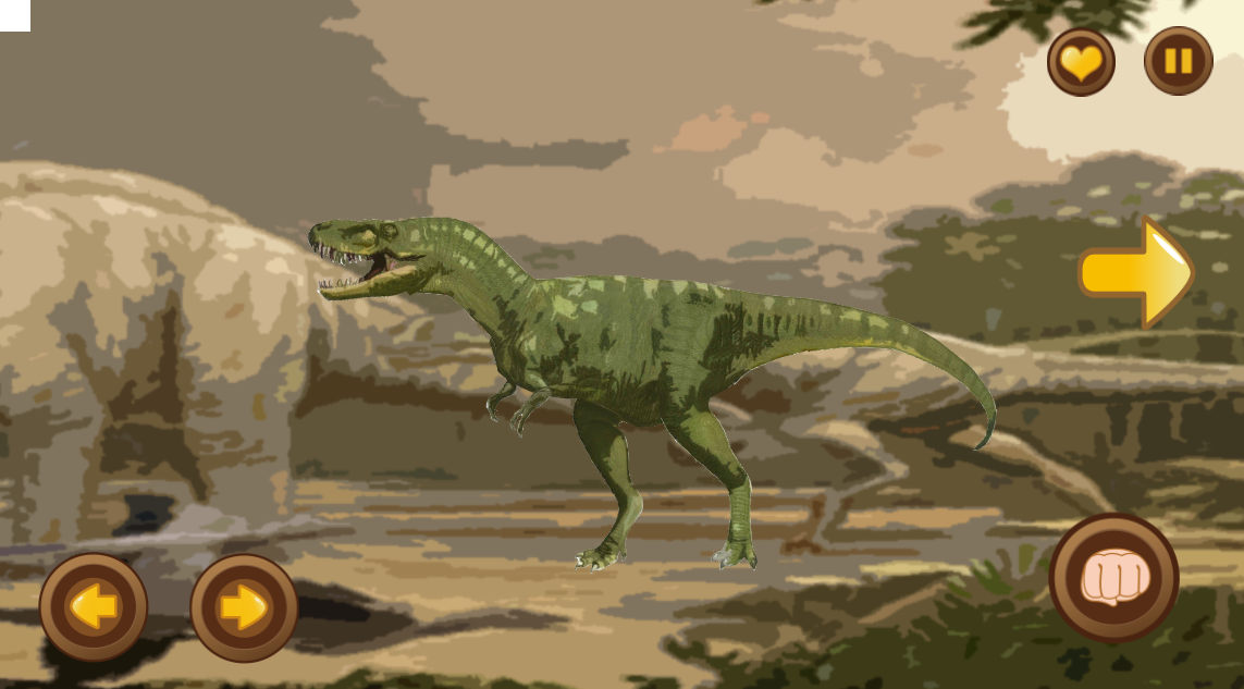 Dinosaurs Adventures Go- screenshot
