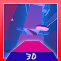 Vuelo del jet imposible 3D icon