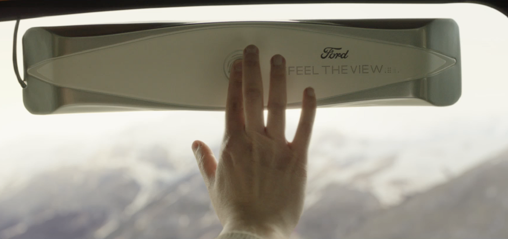 WATCH | Ford's touching new technology helps the blind 'see'