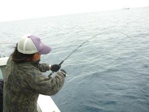 Photo: 九州ジギング巡業中の「メロン屋工房 永井さん」 初乗船です。