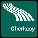Mapa de Cherkasy offline icon
