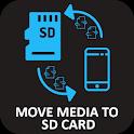 Move Media Files to SD Card: Photos, Videos, Music icon
