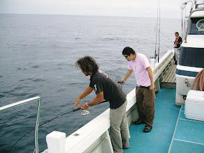 Photo: 再び、船頭さんにヒット!