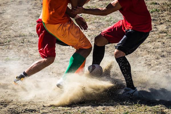 Calcio in costume di g.paciphoto