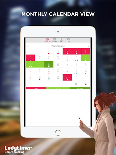 Ladytimer Ovulation & Period Calendar screenshot 5