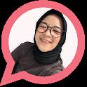 Stiker Nissa Sabyan Lucu - WAStickerApps icon