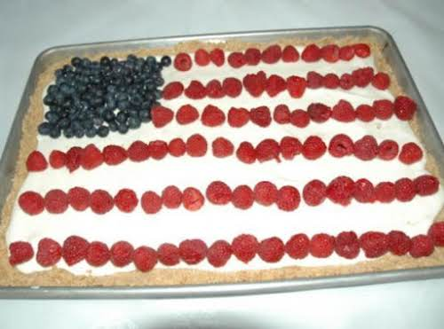 "Fourth Of July Cheesecake ""I made this cake for a family party..."