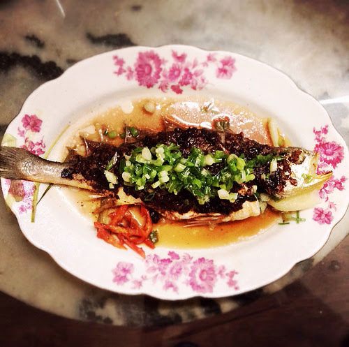 black bean garlic sauce, Black Bean Sauce, chinese, classic, recipe, steamed fish, traditional, 蒸魚, 豉汁