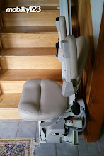 Photo: Bruno Elite Curved Rail Stairlift