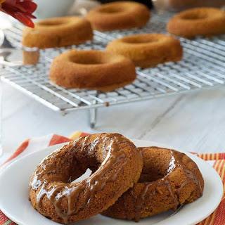 Baked Gluten Free Pumpkin Doughnuts