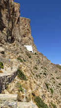 Photo: Amorgos. Another impossible-to-reach monastery.