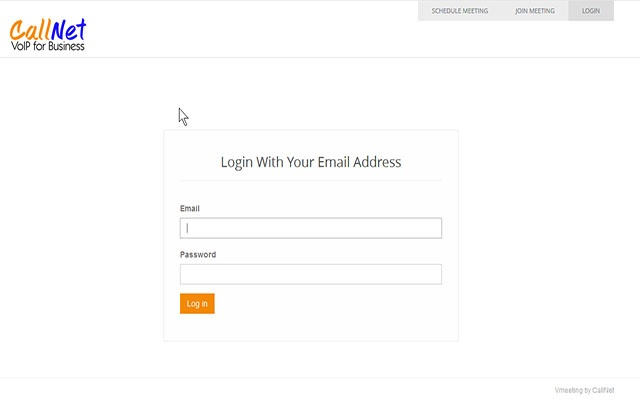 Screensharing for Vmeeting by CallNet