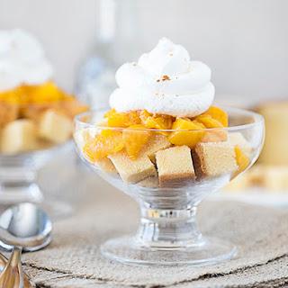 Peach Pound Cake Parfaits