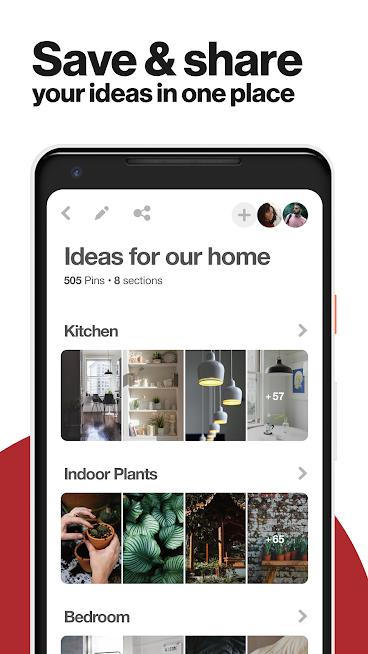 تحميل تطبيق Pinterest احدث اصدار للاندرويد