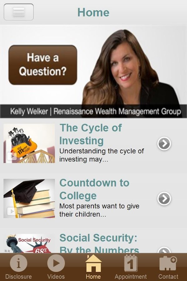 Renaissance Wealth Management- screenshot