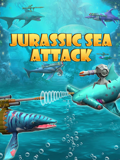 Jurassic Sea Attack apkmr screenshots 1