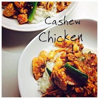 Asian Style Cashew Chicken