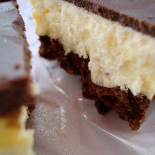 Nanaimo Bar Brownies.