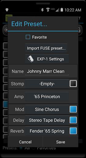 Remuda Lite - USB Guitar Amplifier Control App 1.8.4-lite screenshots 2
