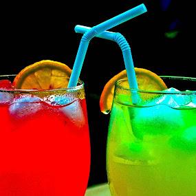 Lemonade by Leony Sibug - Food & Drink Alcohol & Drinks ( lemons, lemonade, cold drink, pink lemonade, drinks, pwccolddrinks, iced lemonade, lemon )