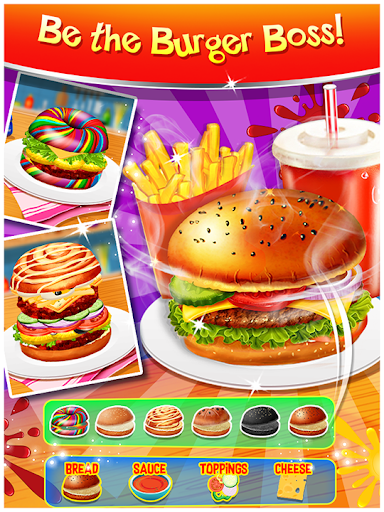 Happy Kids Meal Maker - Burger Cooking Game 1.2.6 Screenshots 1