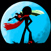 Stickman Shost: Ninja Warrior Action Offline Game