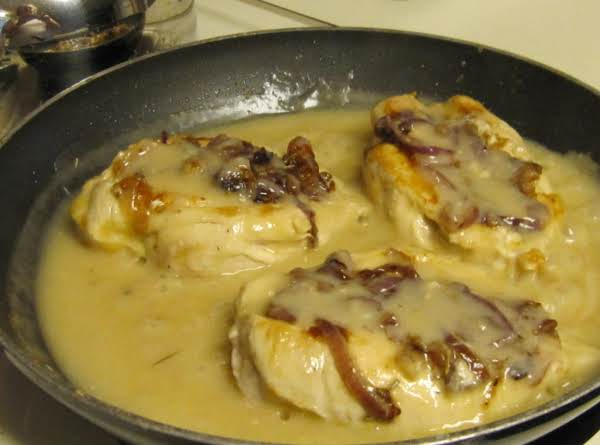 Kitty's Fontina & Onion Stuffed Chicken Recipe