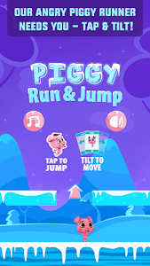 Piggy Run & Jump - Tilt Game screenshot 0