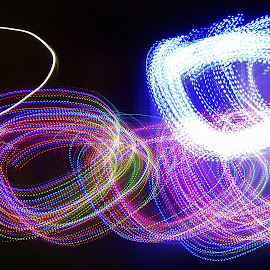 by Anthony Hutchinson - Abstract Light Painting (  )