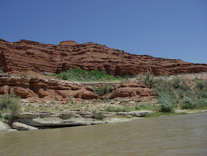 Photo: Sulphur Springs at the big bend above Mex. Hat camp.