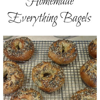 Homemade Everything Bagels.