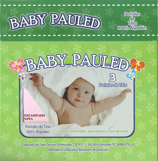 pañales de tela baby pauled niña 3und