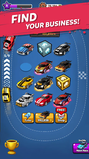 Merge Battle Car: Best Idle Clicker Tycoon game 1.0.70 screenshots 3