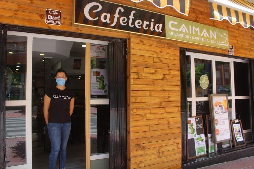 Cafetería Caimán, ubicado en la Avenida de Pablo Iglesias 44, sirven desayunos.
