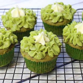 Matcha Green Tea Cupcakes.